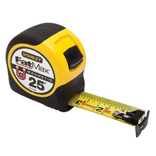 Stanley Fat Max FMHT33865 25' Fatmax Magnetic Tape Measure