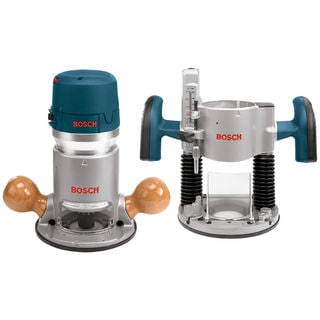 Bosch 1617EVSPK 2.25 HP Combination Plunge & Fixed-Base Electronic Router