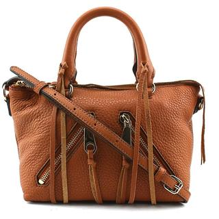 Rebecca Minkoff Women's 'Micro Moto Satchel' Leather Handbag