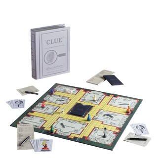 Clue Game Linen Book Vintage Edition