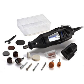 Dremel 200-1/15 Two Speed Rotary Tool Kit With 15 Accessories