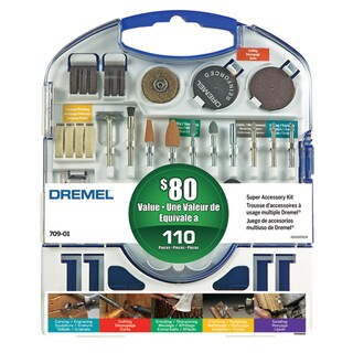 Dremel 709-02 110 Piece Super Accessory Kit