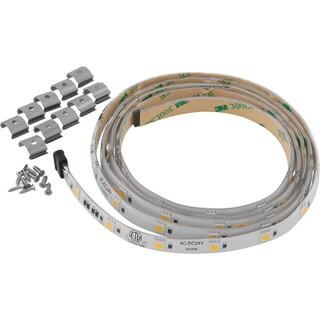 Progress Lighting P7041-30 Hide-a-lite 4 24v LED 5' Tape Lighting 3000k Undercabinet - White