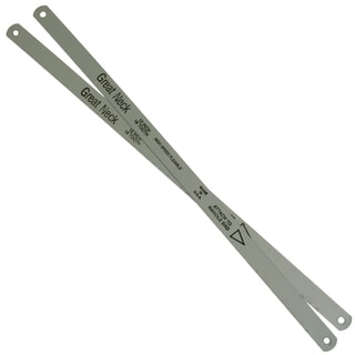 "Great Neck GM228 12"" 18 TPI Molybdenum Steel Hacksaw Blades"