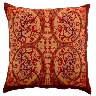 Persian Charm Paisley Throw Pillow