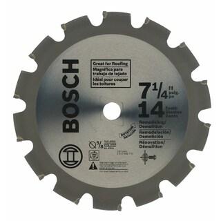 "Bosch CB714NC 7-1/4"" 14 Tooth Circular Saw Blade"