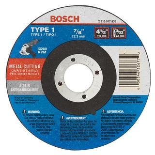 """Bosch CW1M450 4-1/2"""" X 3/32"""" Angle Grinder Cutoff Blade"""