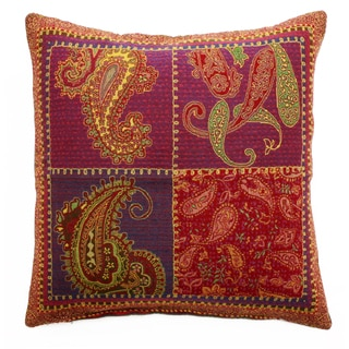 Modern Paisley Throw Pillow