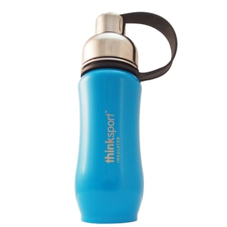 Thinksport Light Blue 12-ounce Insulated Bottle