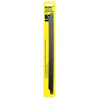 "Stanley Hand Tools 15-412 12"" Carbide Grit Hacksaw Blade"