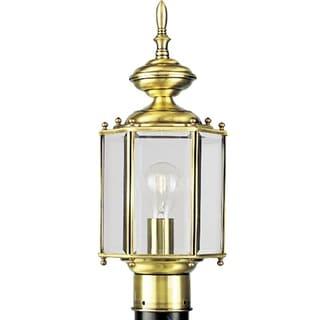 Progress Lighting P5430-10 Brassguard Lantern 1-light Post Lantern