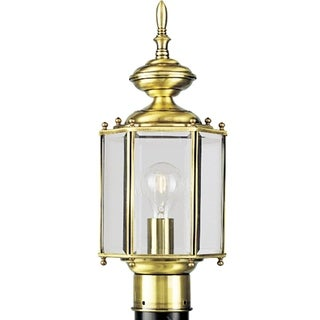 Progress Lighting P5430-10 Brassguard Lantern 1-light Post Lantern