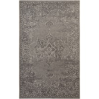 Safavieh Palazzo Light Grey/ Anthracite Medallion Area Rug - 5' x 8'