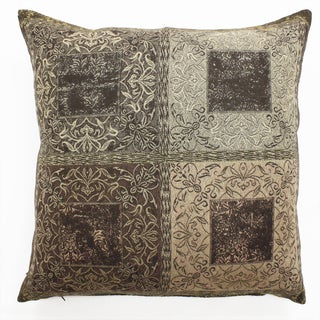 Reversible Mystic Paisley Throw Pillow