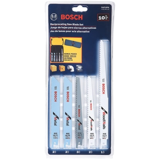 Bosch RAP10PK 10 Piece Reciprocating Saw Blade Set