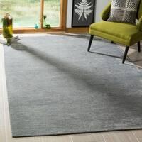 Safavieh Handmade Mirage Modern Dark Grey Viscose Rug - 6' x 9'