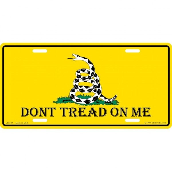 Shop Don't Tread On Me License Plate