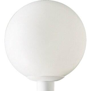 Progress Lighting P5426-60 Acrylic Globe 1-light Post Lantern