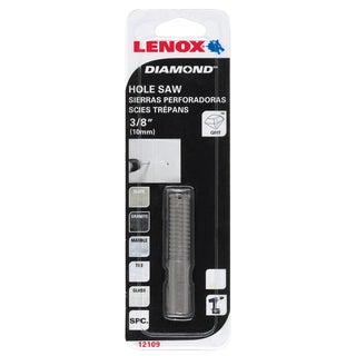 "Lenox 121096DGDS 3/8"" Diamond Holesaw"