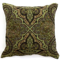 Neo Paisley Boiled Wool Throw Pillow