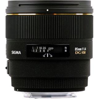 Sigma 85mm f/1.4 Lens For Nikon Lens Bundle