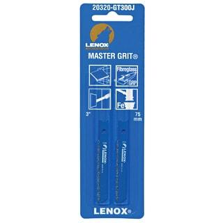 "Lenox 20320-GT300J 3"" Grit Edge Universal Style All Purpose Jig Saw Blade"