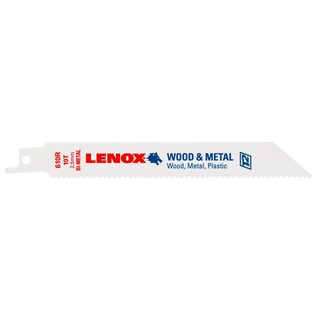 "Lenox 20561-S610R 6"" 10 TPI Multi Purpose Reciprocating Saw Blade"