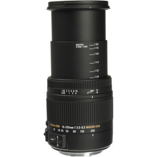 Sigma 18-250mm F3.5-6.3 for Canon EF Lens Bundle