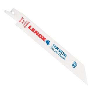 """Lenox 20569-S624R 6"""" 24 TPI Metal Reciprocating Blade"""