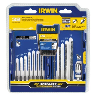 Irwin 1840319 Steel Drill & Drive Set 32-count