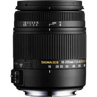 Sigma 18-250mm F3.5-6.3 for Nikon F Lens Bundle