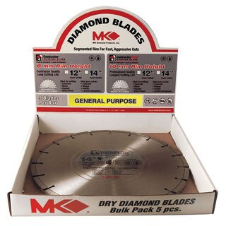 "MK Diamond 167483 14"" Contractor Plus Diamond Blade"