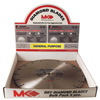 "MK Diamond 167482 12"" Contractor Plus Diamond Blade"