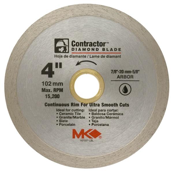 Shop Mk Diamond 167027 4 Quot Contractor Continuous Rim Tile