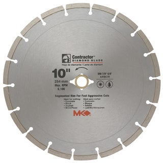 "MK Diamond 167017 10"" Contractor Diamond Blade"