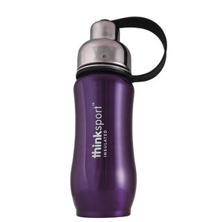ThinkSport Purple 12-ounce Insulated Bottle