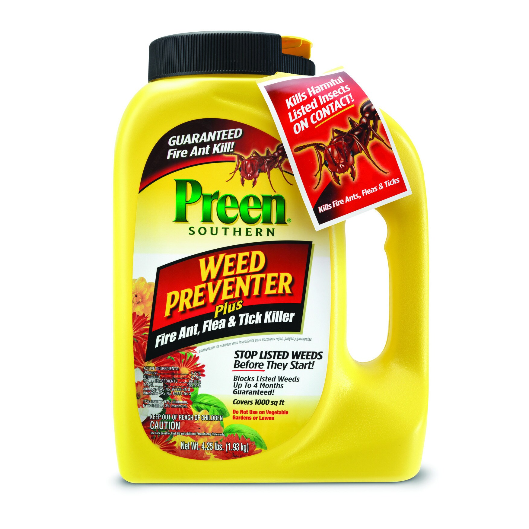 Southern Garden Weed Preventer Plus Fire Ant/ Flea and Ti...