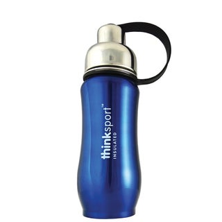 Thinksport Blue 12-ounce Insulated Sports Bottle