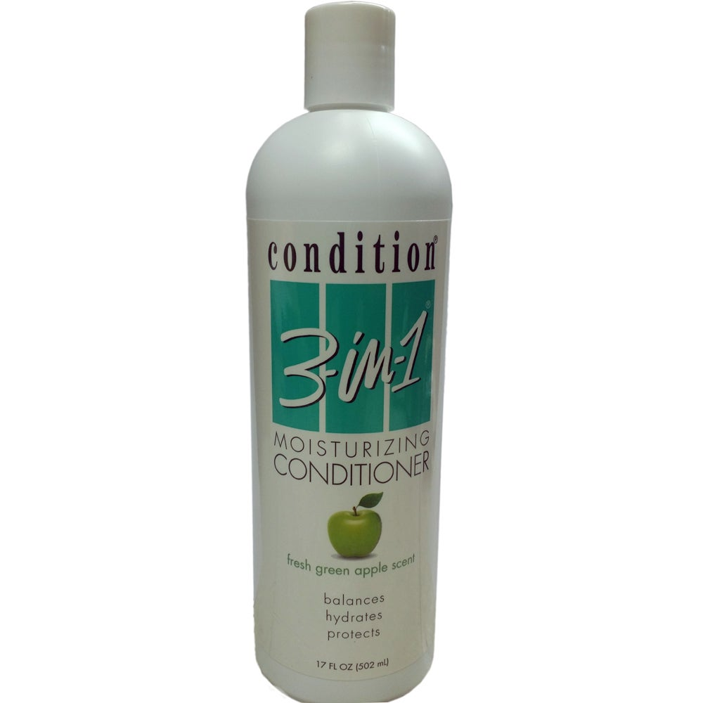 Condition 3-in-1 Moisturizing 17-ounce Green Apple Condit...