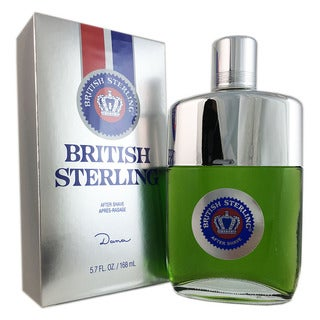 Dana British Sterling Men's 5.7-ounce Aftershave