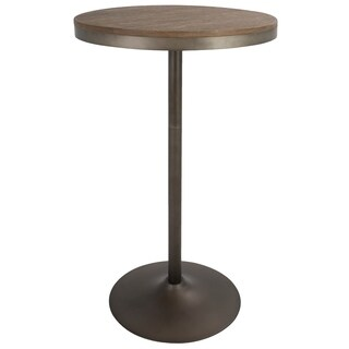 Dakota Industrial Adjustable Bar Height Table