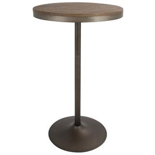 Carbon Loft Goddard Industrial Adjustable Dining/ Bar Table