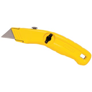 Stanley Hand Tools 10-707 Yellow Retractable Blade Utility Knife