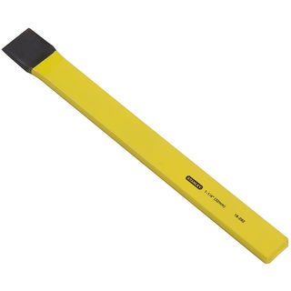 """Stanley Hand Tools 16-292 1-1/4"""" x 12"""" Flat Cold Utility Chisel"""