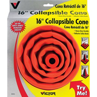 Victor 00238-8 16-inch Sport & Safety Collapsible Cone