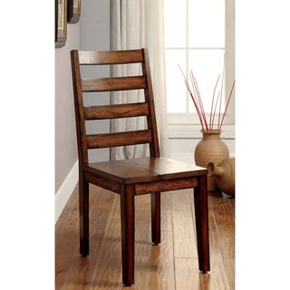 Furniture of America Dickens II Rustic Side Chair (Set of 2)