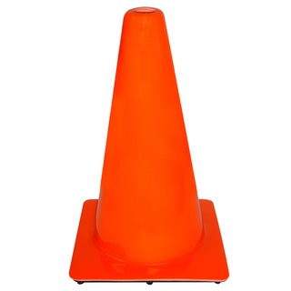 3M 90128-00001 18-inch Orange Safety Cone