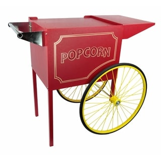 Red Medium Cart for 8 Ounce Rent-A-Pop Popcorn Machine