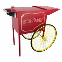 Red Medium Cart for 8 Ounce Rent-A-Pop Popcorn Machine