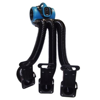 XPOWER X-800TF+MDK Cage Dryer and Multi Drying Hose Set with Timer and Filter